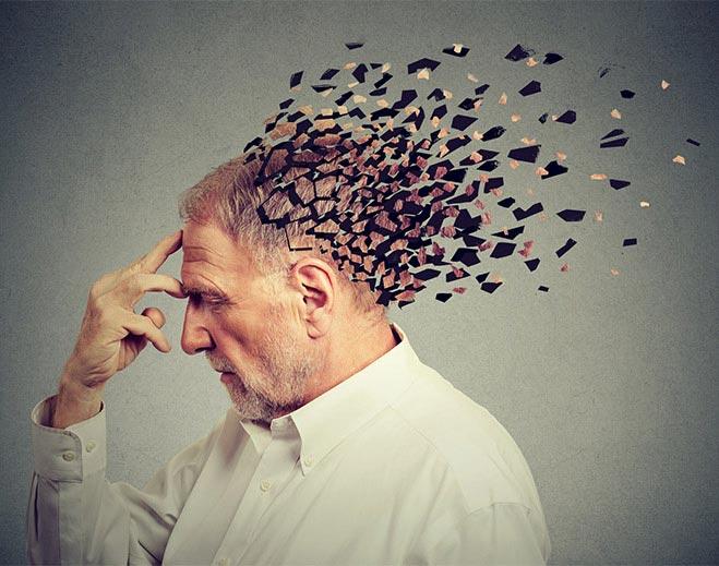 mature man memory loss